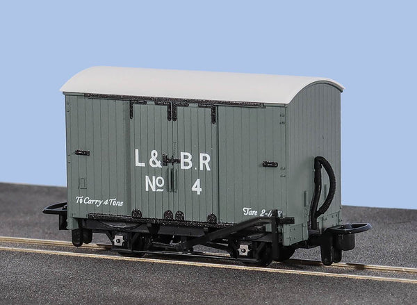 OO-9 Box Van Lynton and Barnstaple Livery No 4