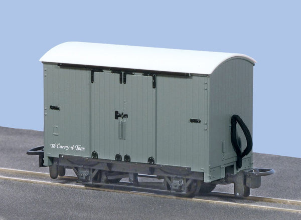 OO-9 Box Van Unlettered Grey