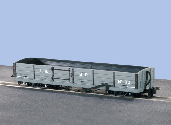 OO-9 Bogie Open Wagon L and B Livery No. 22