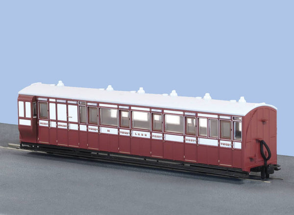 OO-9 Brake Composite Coach Lynton and Barnstaple Livery No 15