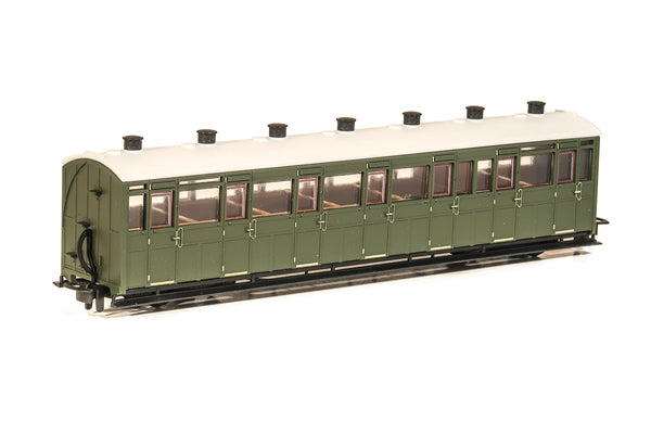 OO-9 All Third Coach Unlettered Green