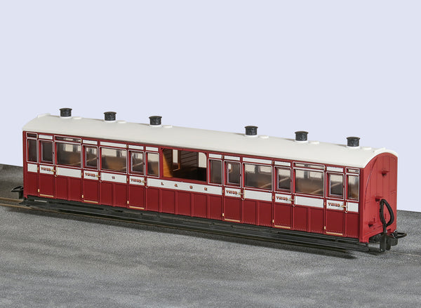 OO-9 Centre Observation Coach Lynton and Barnstaple Livery No 10