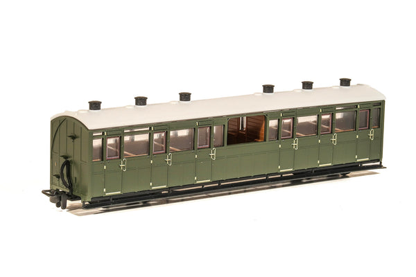 OO-9 Observation Coach Unlettered Green