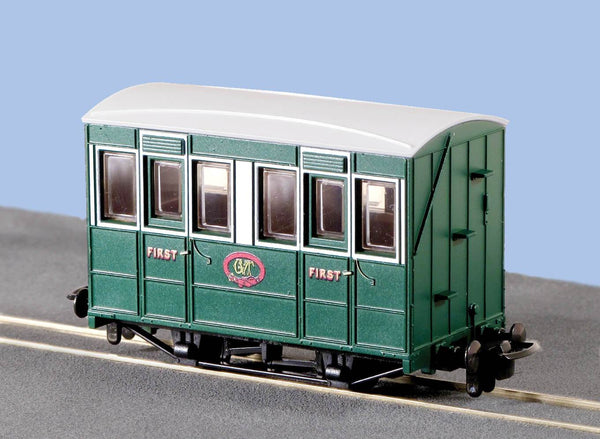OO-9 4 Wheel Coach with Buffers Talyllyn