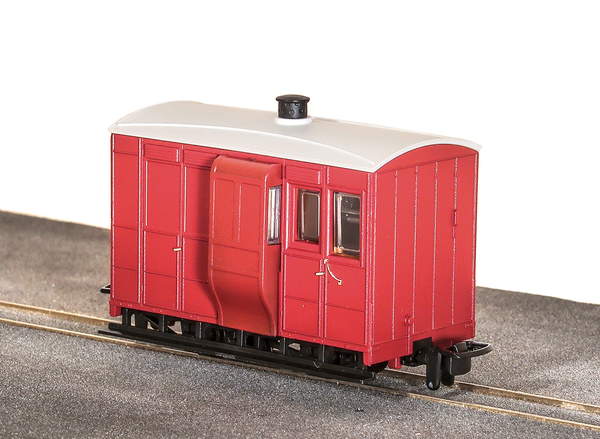 OO-9 4 Wheel Brake Coach Red