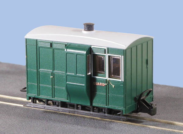 OO-9 4 Wheel Brake Coach without Buffers Glyn Valley Freelance