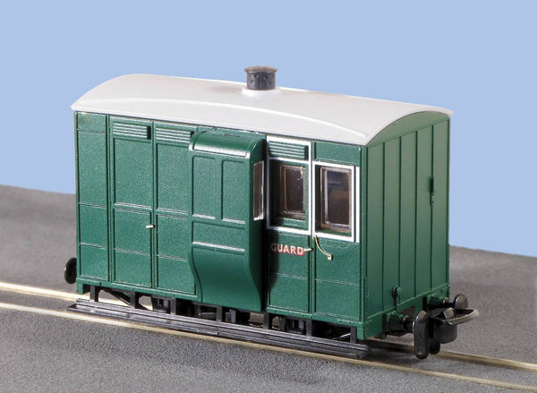 OO-9 4 Wheel Brake Coach with Buffers Freelance