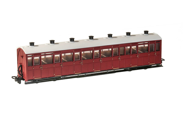 OO-9 All Third Coach Unlettered Indian Red