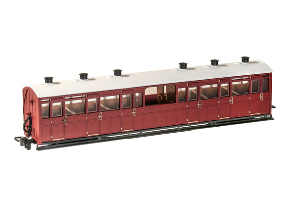 OO-9 Obervation Coach Unlettered Indian Red
