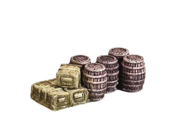 Barrels and Crates