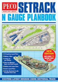 N Gauge Setrack Planbook