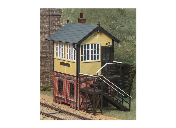 Brick Base Signal Box
