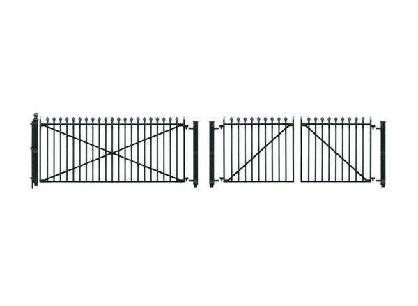 GWR Ramp Spear Fencing and Gates