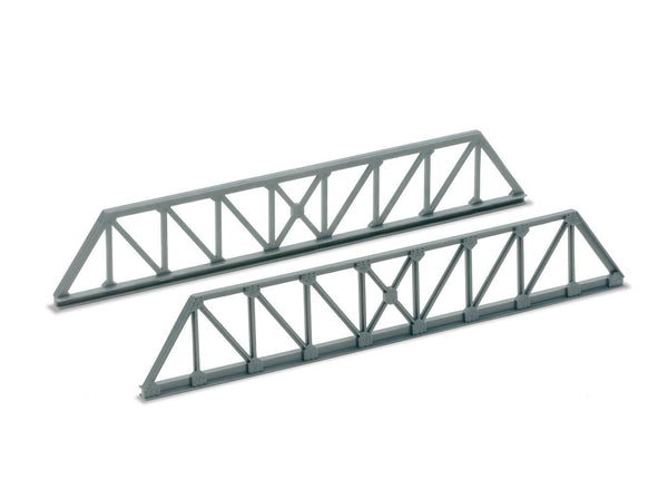 Girder Bridge Side, Truss Girder Type, Grey