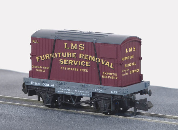 LMS Furniture Removals Conflat with Container