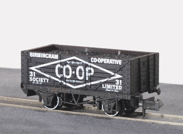 7 Plank Wagon Private Owner Birmingham CO-OP No.31