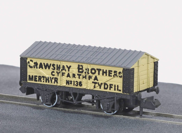 Crawshay Lime Wagon with Roof