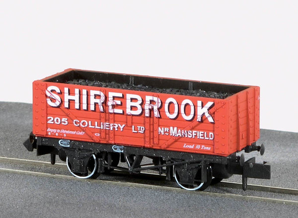 Shirebrook Coal 7 Plank Wagon