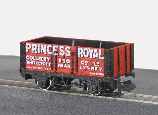 7 Plank Wagon Private Owner Princess Royal Coliery
