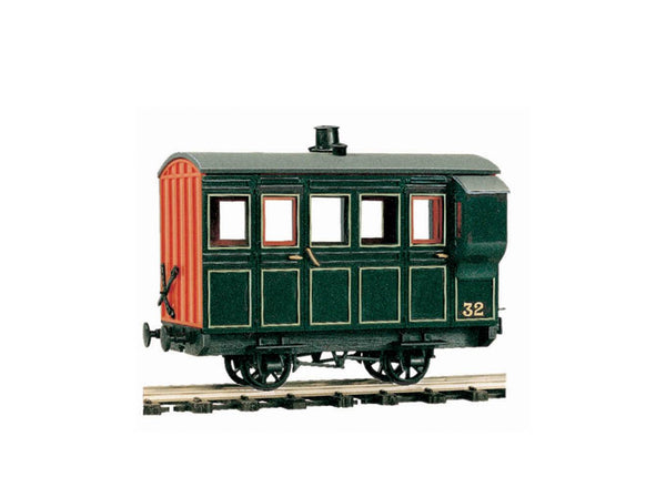 4 Wheel Coach Kit, Green
