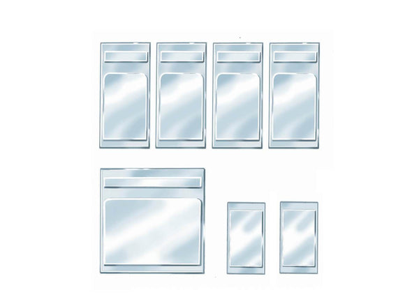 Coach Windows (Pack of 7)