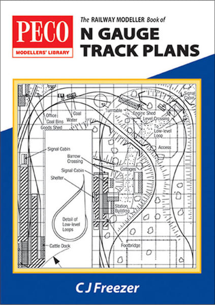 Railway Modeller Book of N Gauge Track Plans