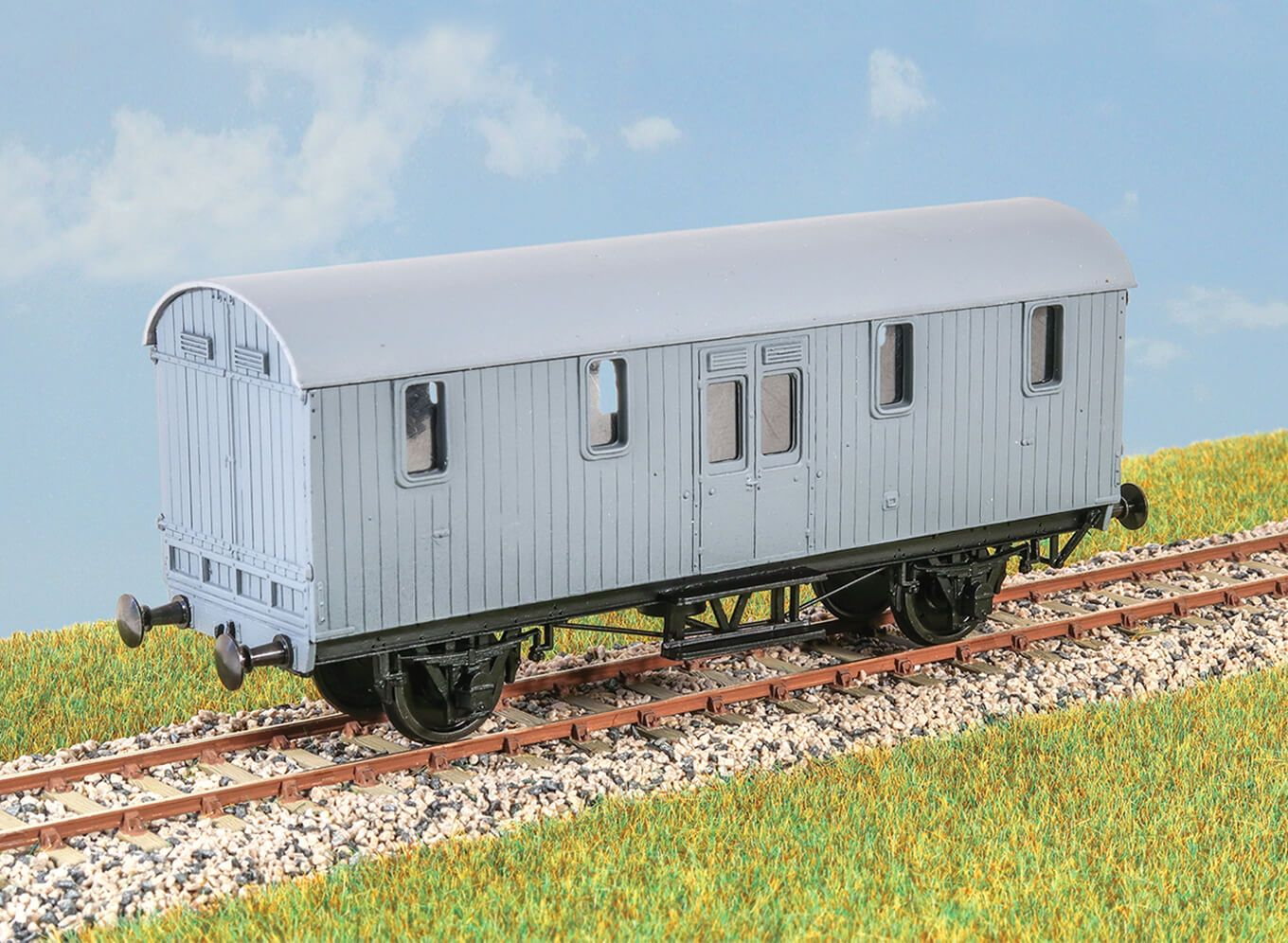GWR Python Covered Carriage Coach Van