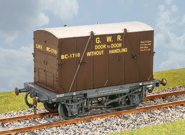 GWR Container Wagon with 'B' Cont.