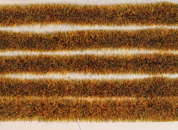 Wild Meadow Grass Tuft Strips 4mm High Self Adhesive
