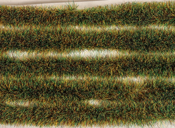 Spring Grass Tuft Strips 6mm High Self Adhesive