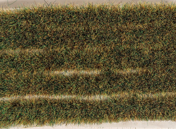 Marshland Grass Tuft Strips 10mm High Self Adhesive