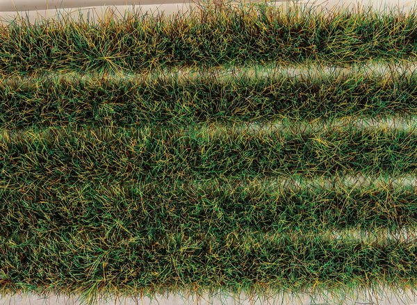 Water Meadow Grass Tuft Strips 10mm High Self Adhesive
