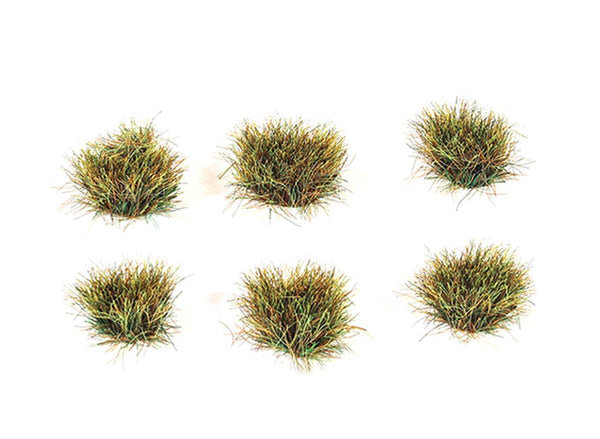 PECO Model Trains | 10mm Self Adhesive Autumn Grass Tufts