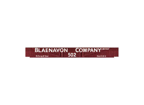 Blaenavon Company Low Sided 3 Plank