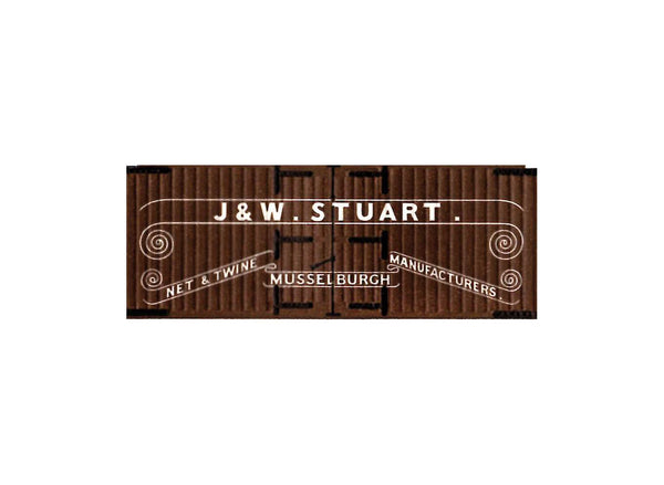 J and W Stuart Box Van