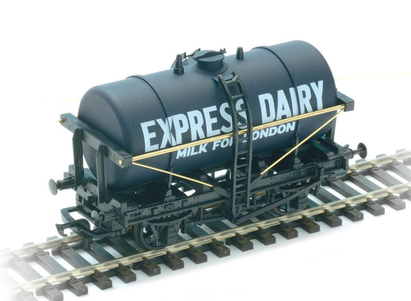 Milk Tank Wagon Express Dairy