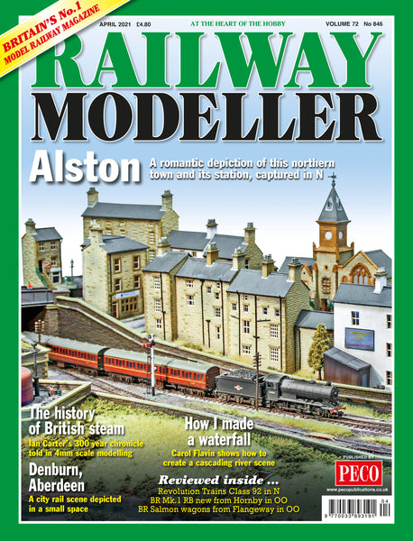 RAILWAY MODELLER April 2021 Vol.72 No.846