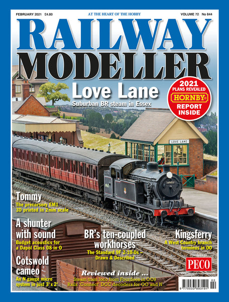 RAILWAY MODELLER February 2021 Vol.72 No.844