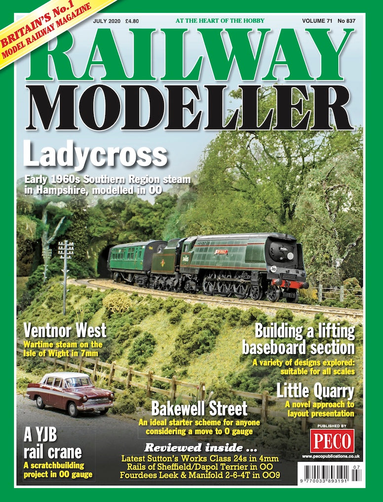 RAILWAY MODELLER JULY 2020 Vol.71 No.837
