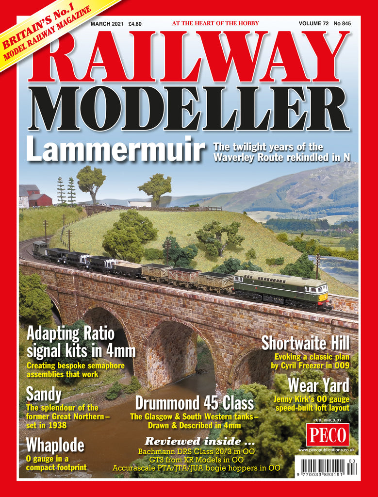 RAILWAY MODELLER March 2021 Vol.72 No.845