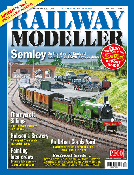 RAILWAY MODELLER FEBRUARY 2020 Vol.71 No.832
