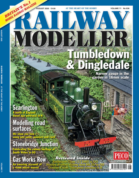 RAILWAY MODELLER August 2020 Vol.71 No.838