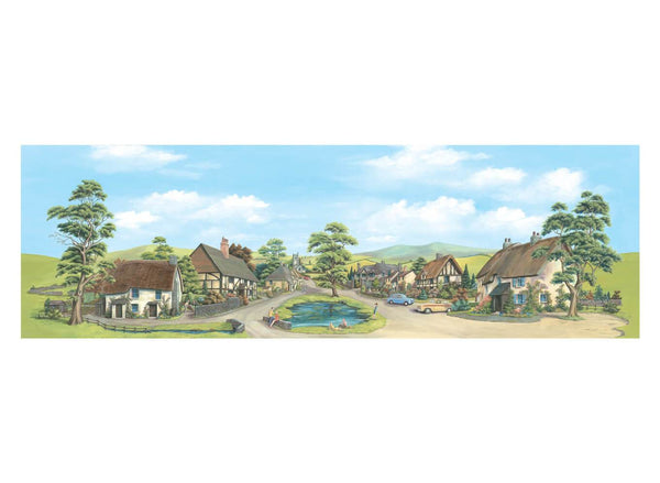 Large Village Backscene