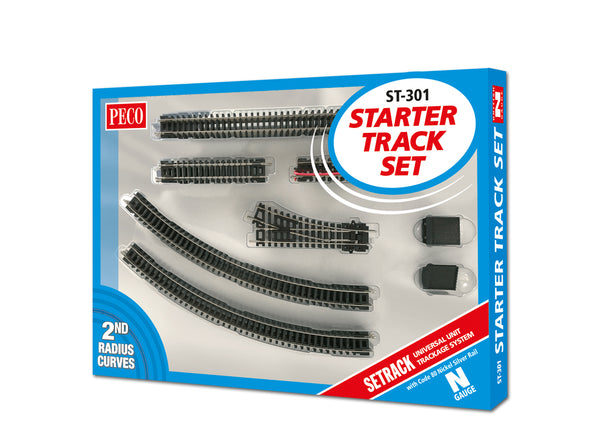 Starter Track Set 2nd Radius