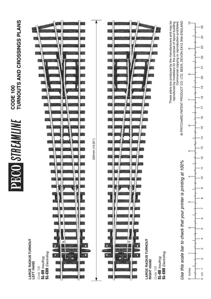 SL-88 / SL-E88 / SL-E188 Plan Sheet