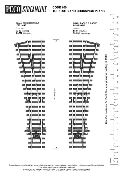 SL-91 / SL-E91 / SL-E191 Plan Sheet