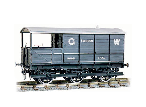 GWR 24ton Six-wheel Brake Van