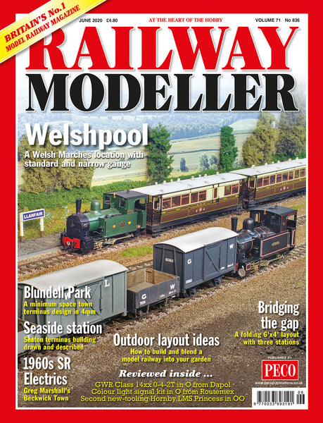 RAILWAY MODELLER JUNE 2020 Vol.71 No.836