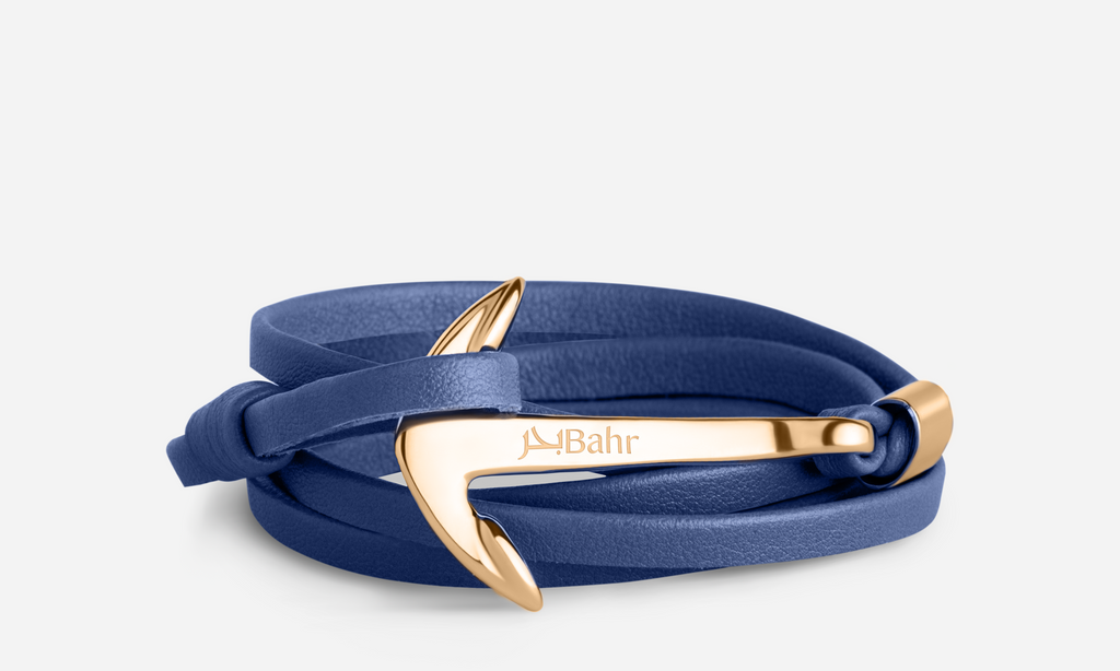 Abysmal Blue - Anchor Bracelet - Bahr in UAE