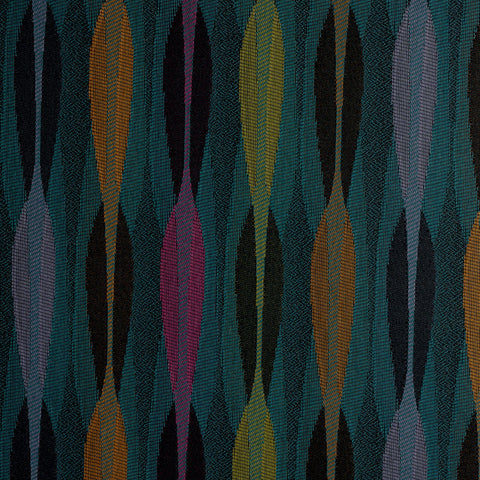 Orion-Blue Hawaiian Upholstery Fabric
